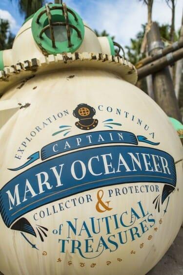 disney Mary Oceaneer dive bell