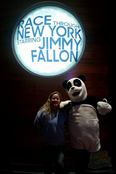 fallon ride inside hastag the panda