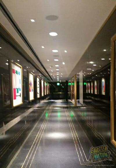fallon ride logo hallway