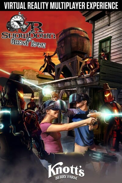 knotts VR Showdown In Ghost Town