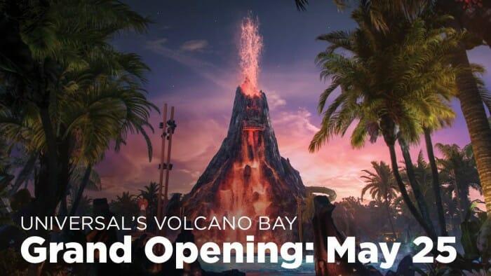 volcano bay opening
