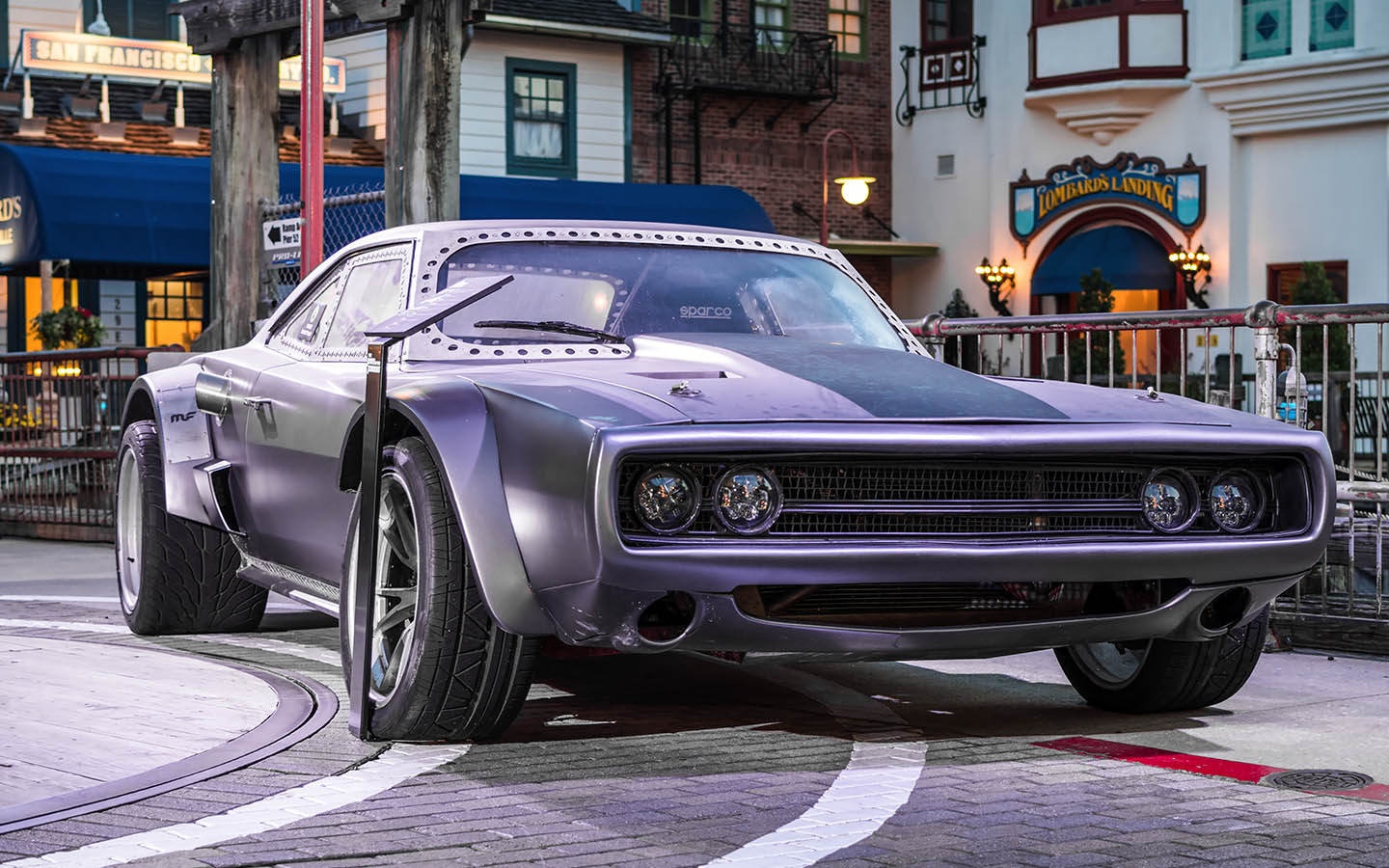 f8 fast and the furious cars on display at universal studios orlando coaster nation. Black Bedroom Furniture Sets. Home Design Ideas