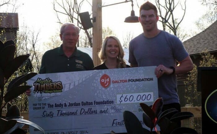 andy dalton big check kings island
