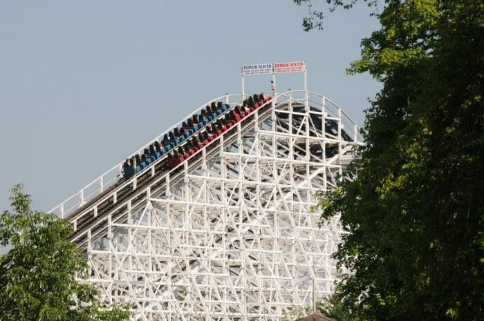 Kings Island Racer Turns 45