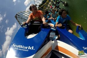 Wave Breaker Opens At SeaWorld San Antonio