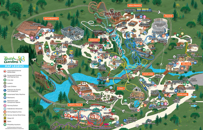 A Giga Coaster Could Be Coming To Busch Gardens Williamsburg Coaster Nation