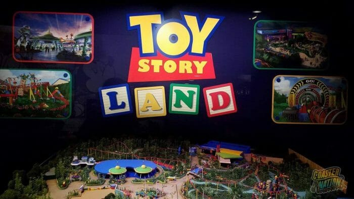 Toy Story Land Previewed In Walt Disney Presents at Disney's Hollywood Studios