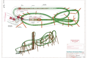 Darien Lake Planning To Add New Vertical Drop Roller Coaster