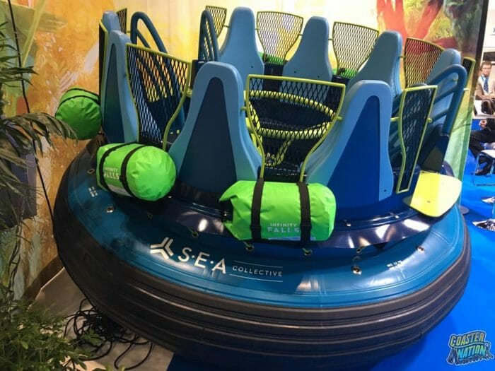 SeaWorld Orland Reveals Custom Raft For Infinity Falls