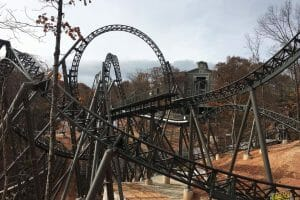 Silver Dollar City Time Traveler Construction Tour