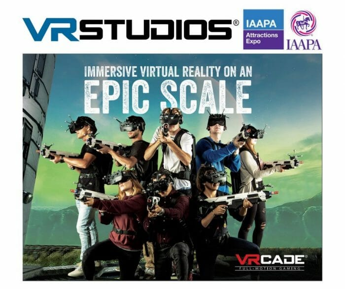 VRstudios To Demonstrate VRcade Arena at IAAPA