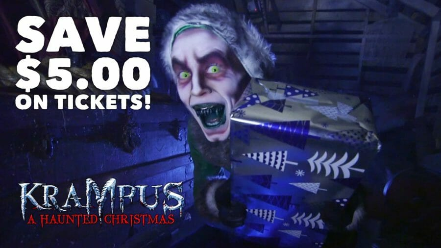 Haunted Houses Go Krampus For Christmas – Ticket Deal