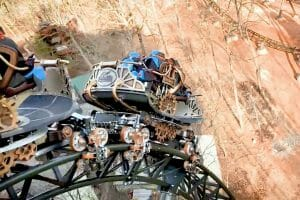 New Time Traveler Coaster Begins Test Runs At Silver Dollar City