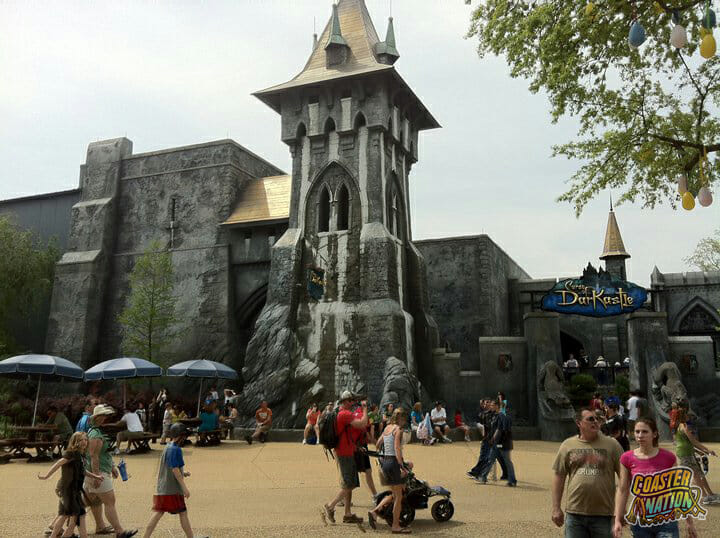 Busch Gardens Williamsburg Closes Curse Of Darkastle Ride Forever Coaster Nation