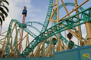 HangTime Construction Update At Knott's Berry Farm