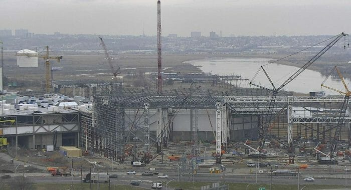 World's Steepest Coaster Topped off at NJ American Dream Meadowlands