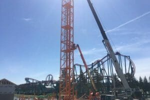 Darien Lake Starts Construction on Tantrum Vertical Lift Coaster