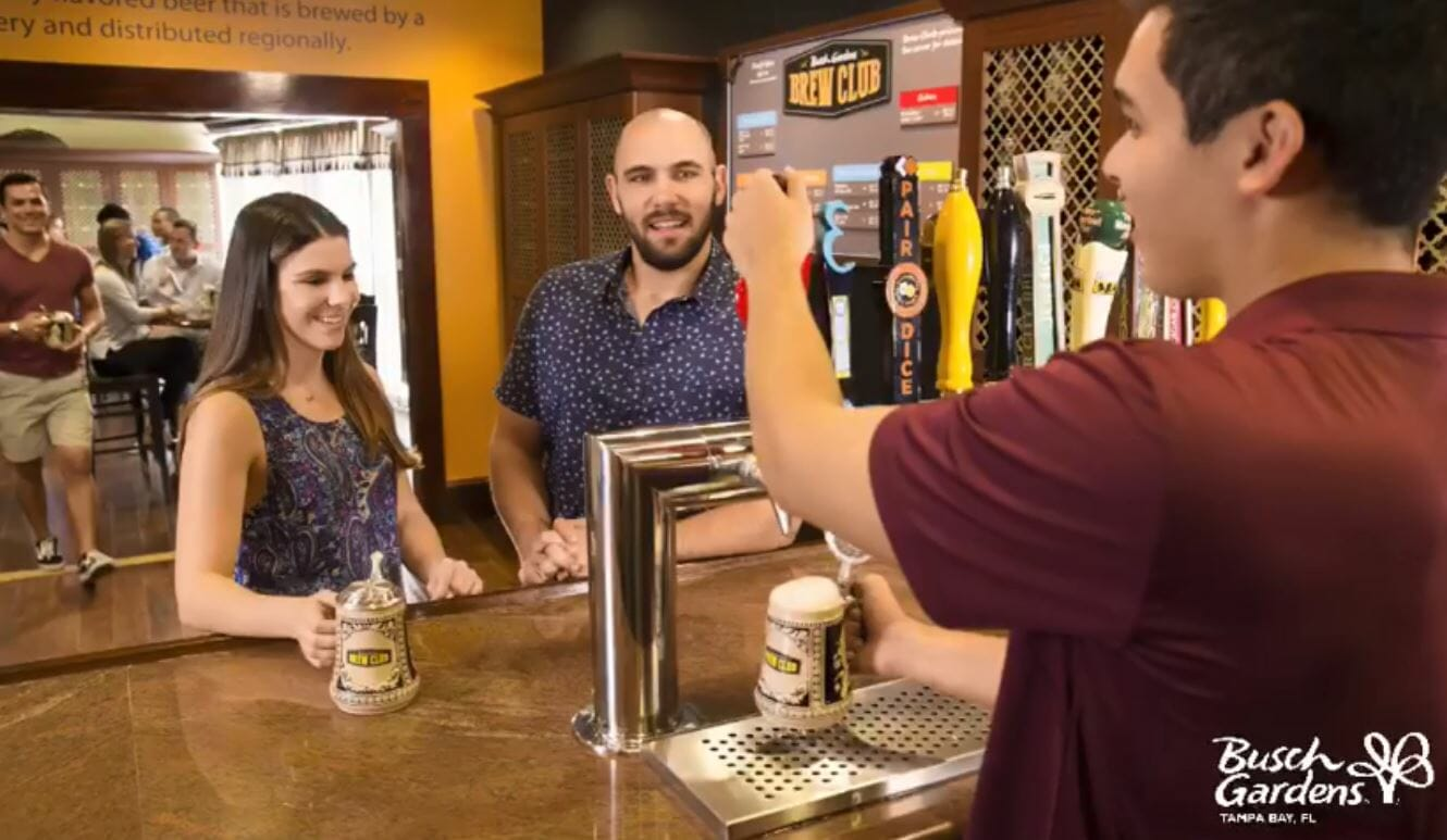 Free Beer Samples And Brew Club Revealed At Busch Gardens Tampa ...