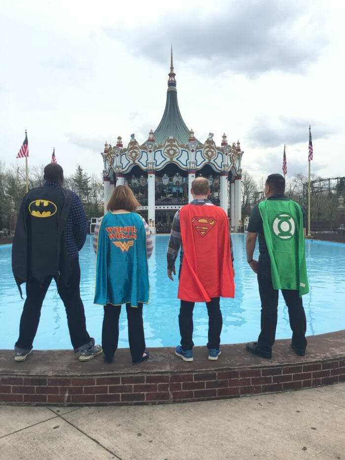 Six Flags Great America Opening This Weekend with a Super Hero
