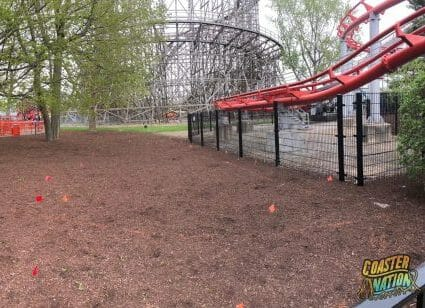 New Markers Appear Around Magnum and Gemini At Cedar Point