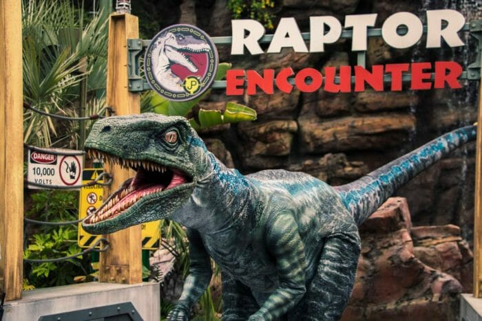 New Velociraptor Debuts at Universal Studios Hollywood and Universal Orlando Resort