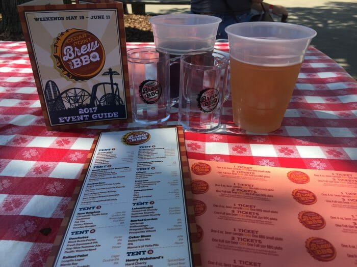 Brew and BBQ Returning to Cedar Point