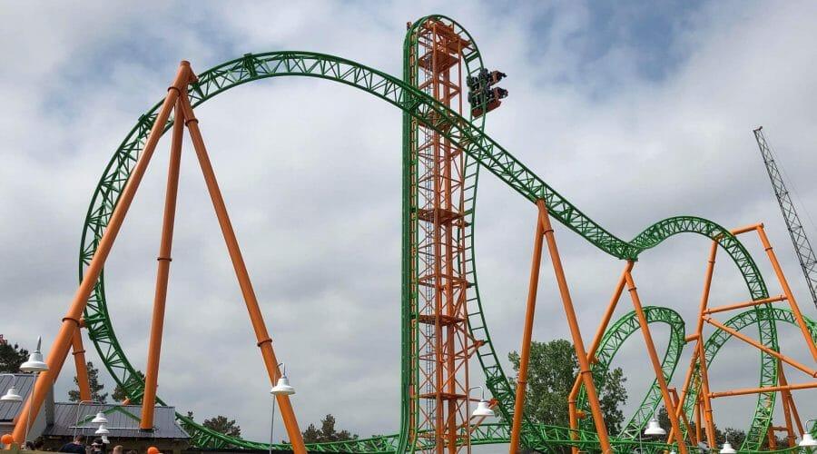 Darien Lake Throws A Tantrum And Debuts New Roller Coaster