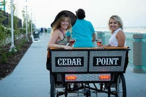 Cedar Point Debuts Sunset Cruisers Wine Tours