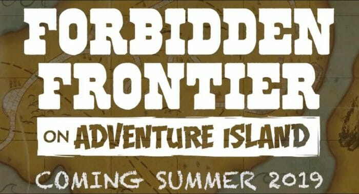 Cedar Point Announces Forbidden Frontier on Adventure Island