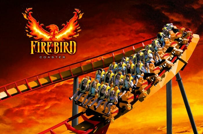 Firebird Soars into Six Flags America in 2019