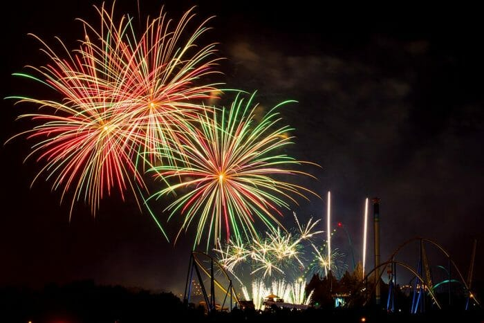 Canada's Wonderland Celebrates Labour Day Long Weekend With Spectacular Fireworks Display