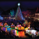 Silver Dollar City's An Old Time Christmas Features Christmas In Midtown Light Spectacular, 6.5 Million Lights, Light Parade & Time Traveler