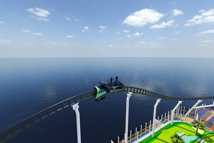 First-Ever Roller Coaster At Sea To Offer One-Of-A-Kind Thrills Aboard New Mardi Gras Ship