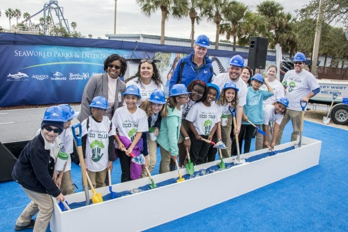 SeaWorld Parks & Entertainment Breaks Ground on New Orlando Headquarters