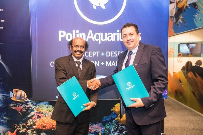 Polin Aquariums Announces Collaboration With VGP Marine Kingdom