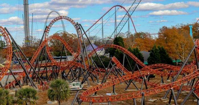 Copperhead Strike: Carowinds New Double Launch Roller