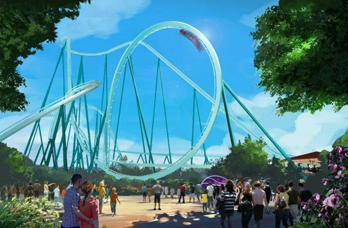 SeaWorld Begins Construction On New Dive Coaster