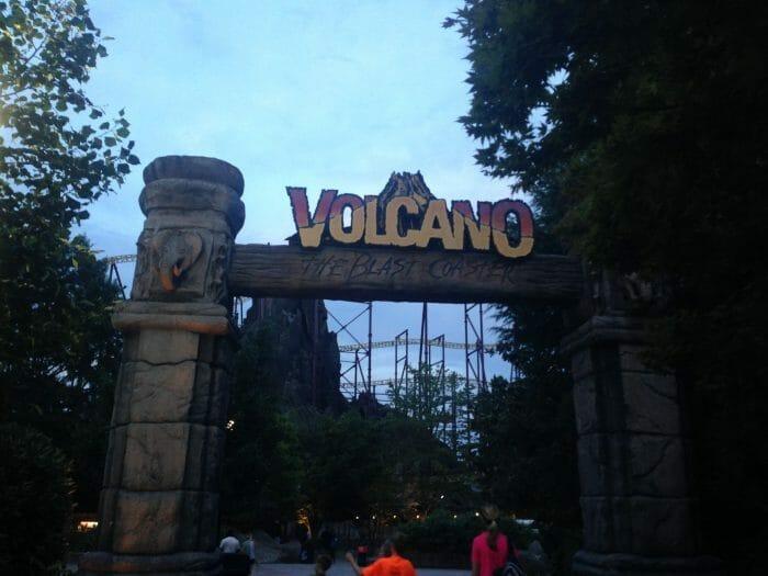 Kings Dominion To Remove Volcano: The Blast Coaster