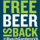 FREE BEER IS BACK! Busch Gardens Williamsburg Opens March 23