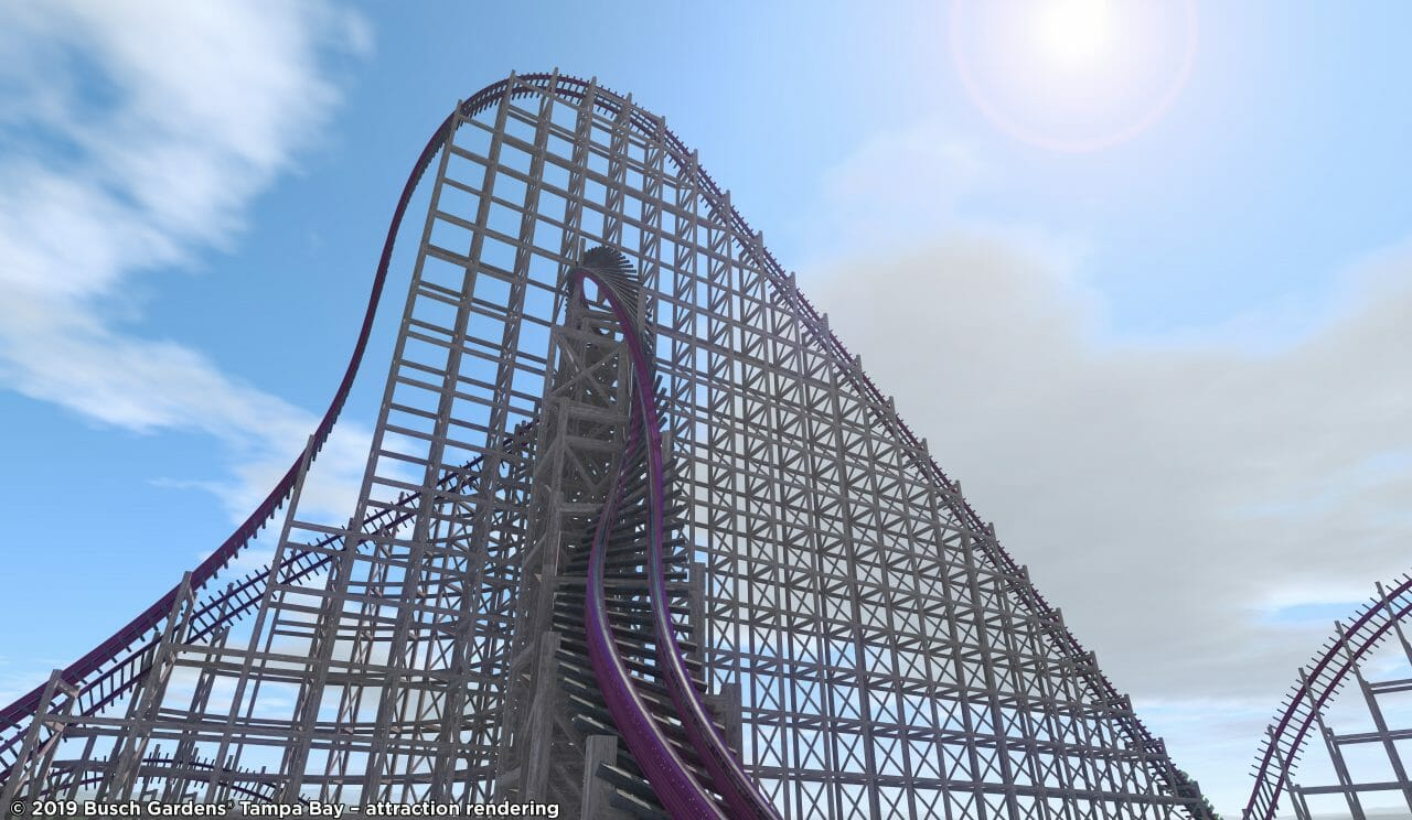 Record Breaking Hybrid Coaster Replacing Gwazi At Busch Gardens Tampa