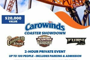 Coaster Showdown! Carowinds Auctioning Off Two-Hour Private Event To Benefit Leukemia & Lymphoma Society