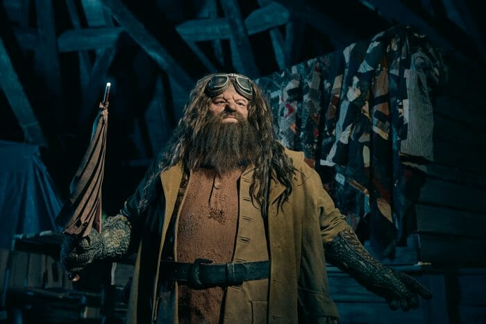 First Look At The Hagrid Animatronic From Universal Orlando's New Magical Creatures Motorbike Adventure