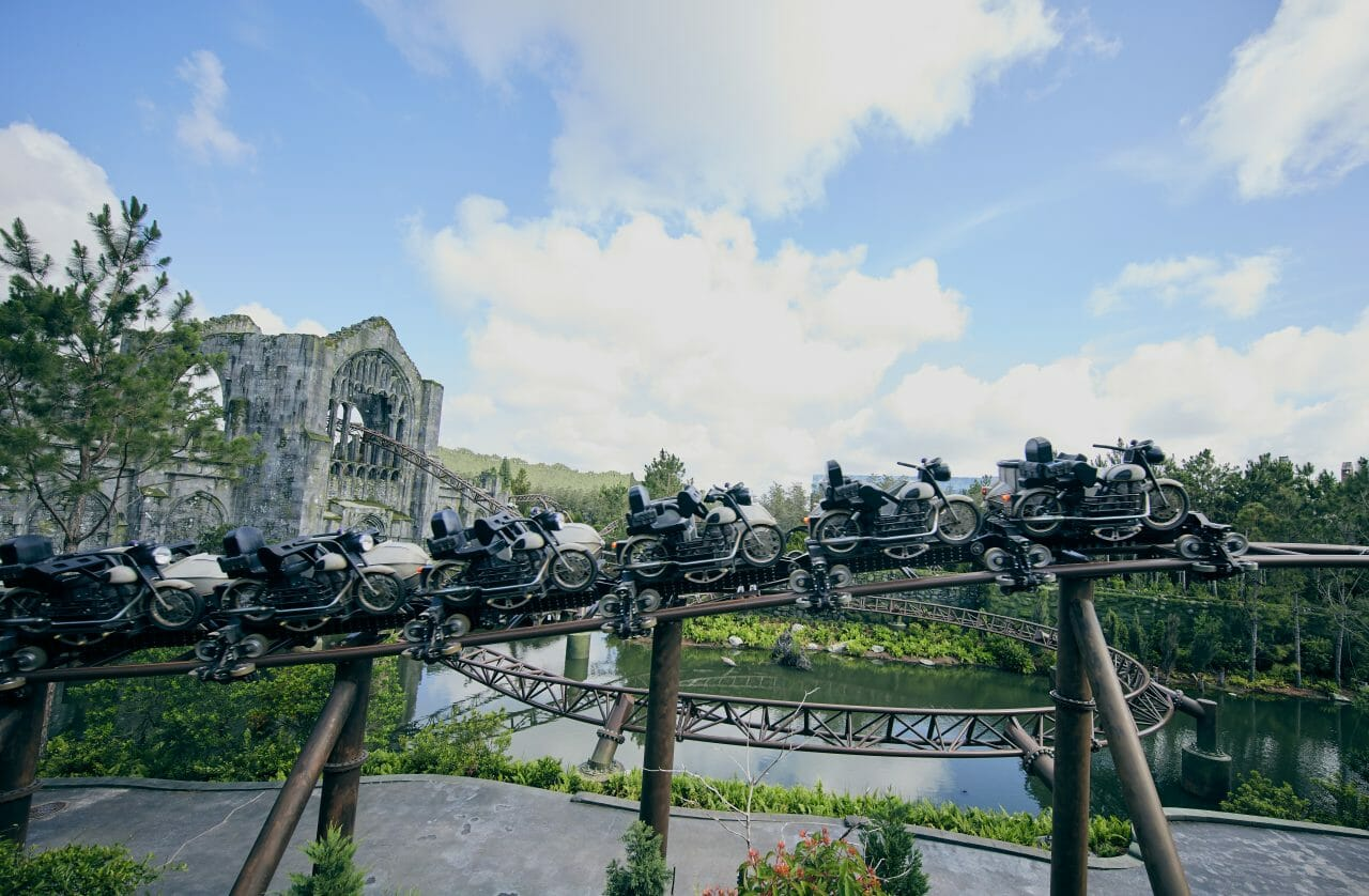 Sneak Peek Look At Hagrid's Magical Creatures Motorbike Adventure Coaster