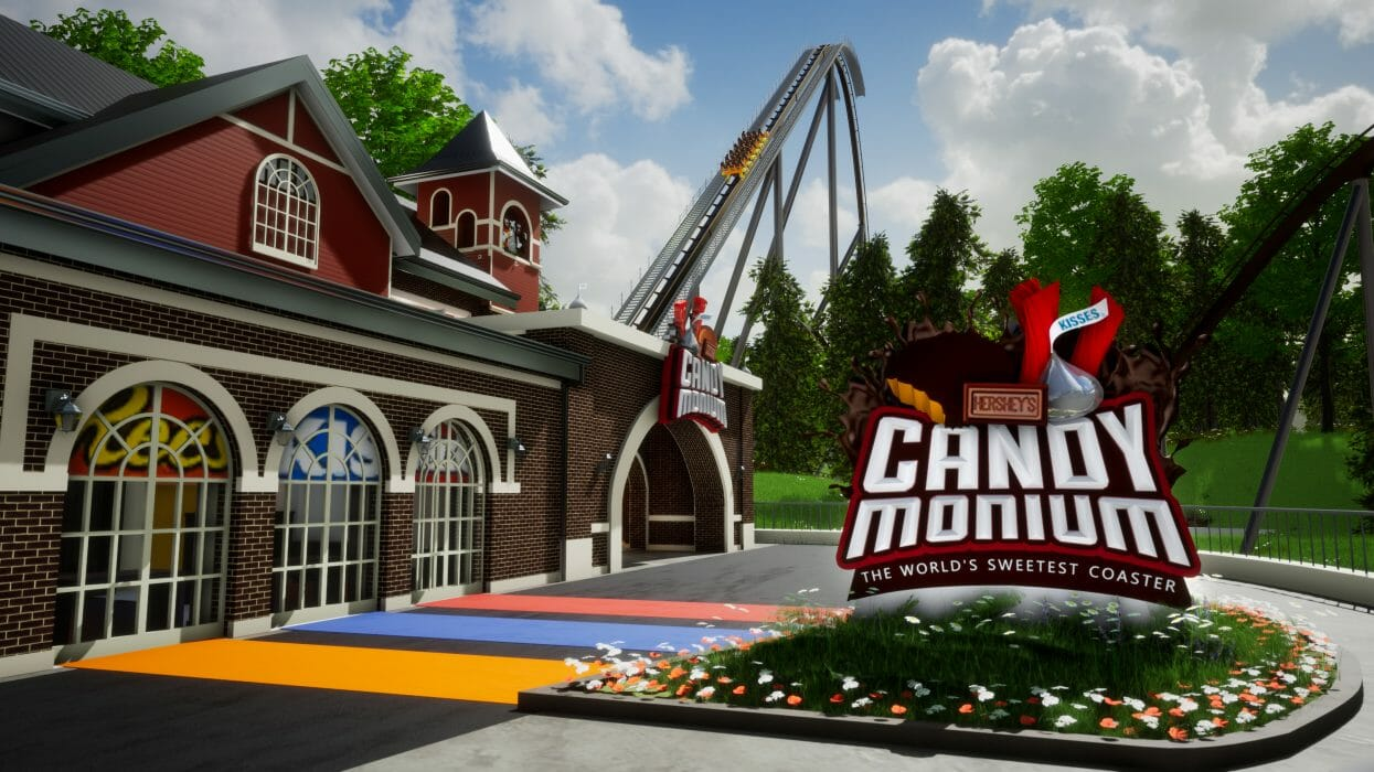 """Candymonium"" Hypercoaster Coming to Hersheypark in Summer 2020"
