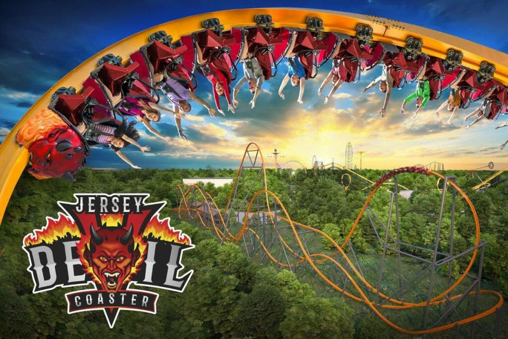 Six Flags Great Adventure To Debut Record Breaking Jersey