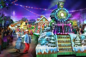 Carowinds Introduces All-New Winterfest Wonderland Parade