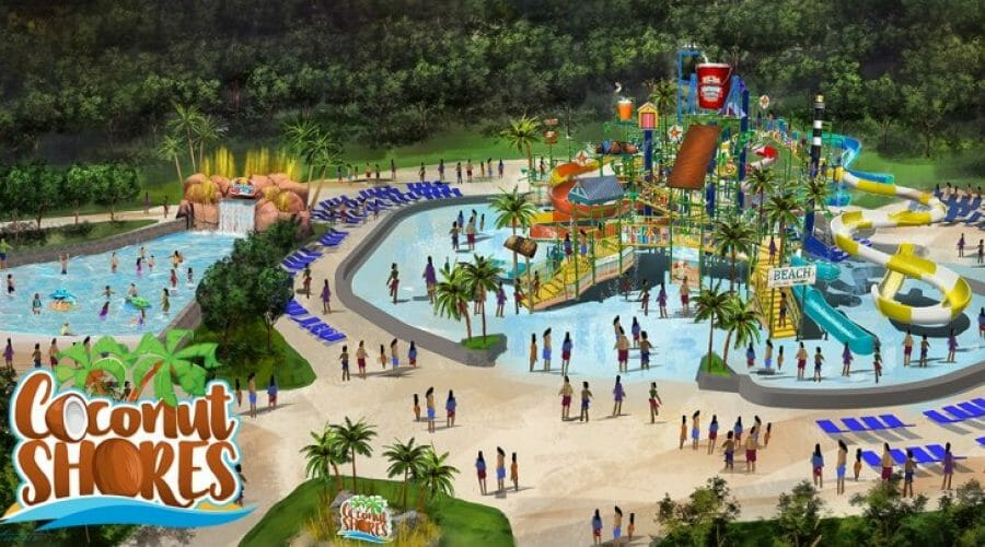 Coconut Shores Waterpark Expansion Coming To Kings Dominion in 2020