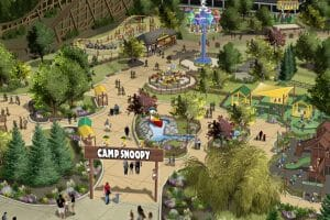 Camp Snoopy Kids Area Coming To Michigan's Adventure in 2020