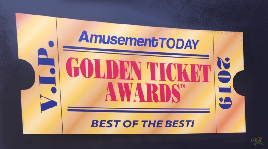 Amusement Today Honors Best of The Best At 2019 Golden Ticket Awards