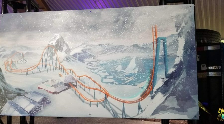 Ice Breaker Roller Coaster Launches Into SeaWorld Orlando In 2020